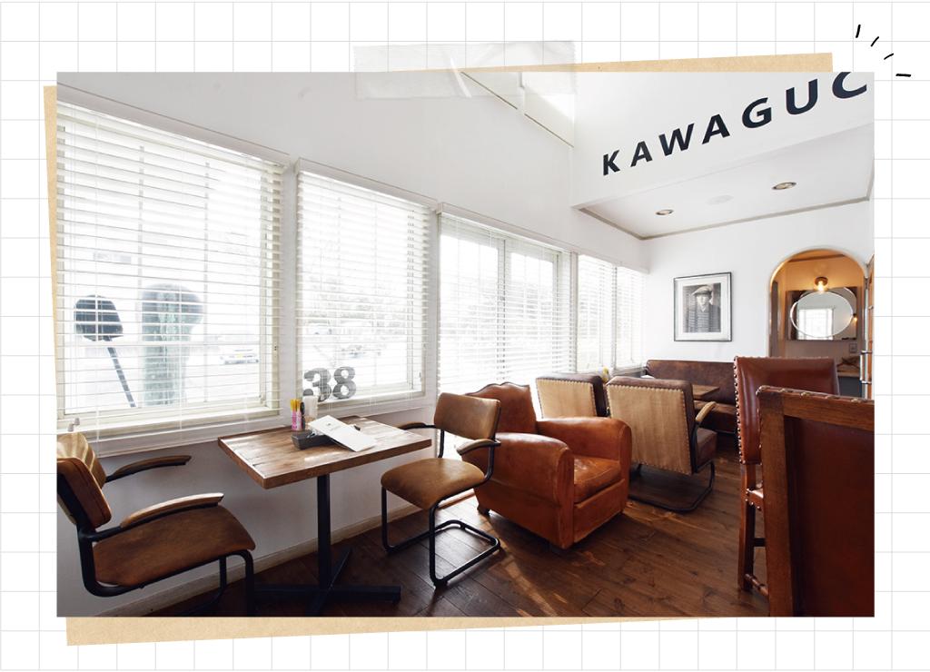 38KAWAGUCHIKOの店内