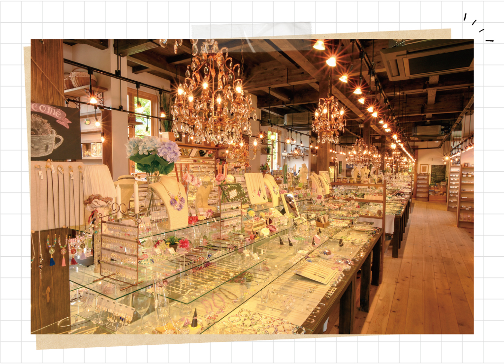 □○堂 富士大石の店内