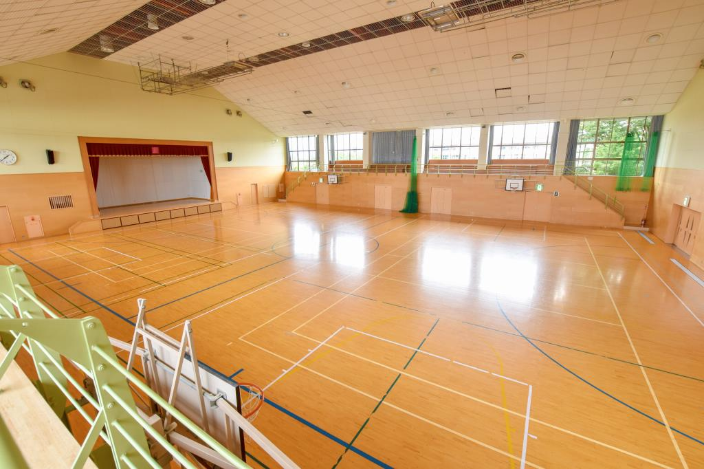 中央市立田富市民体育館 中央市 体育館 3