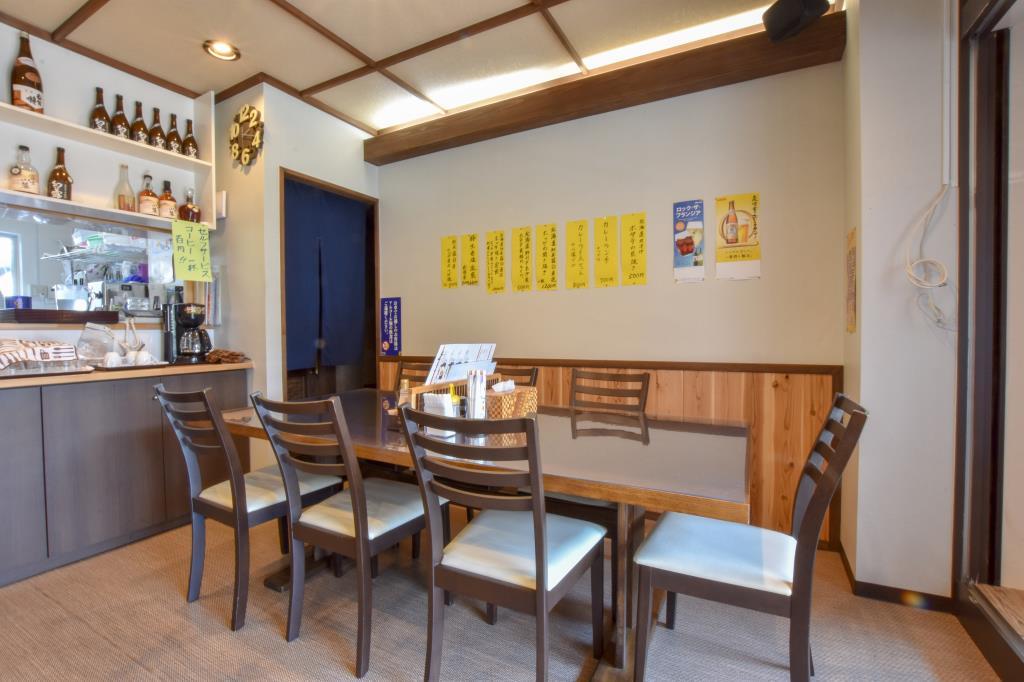 キッチンれお 甲府市 グルメ 和食 4