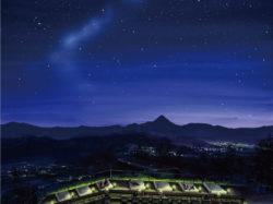 ヨルテラス~清里テラスの夜景と星空~