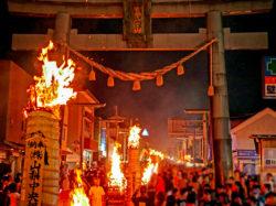 日本三奇祭 吉田の火祭り・すすき祭り