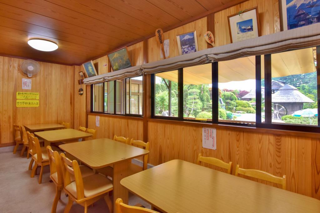 御食事処 はんのき食堂 忍野村 グルメ 郷土料理 2