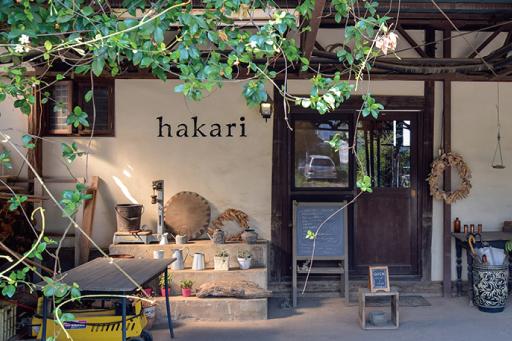 農カフェ hakariの入り口1