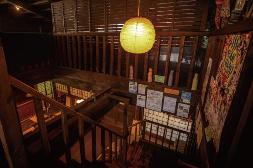酒蔵櫂の階段