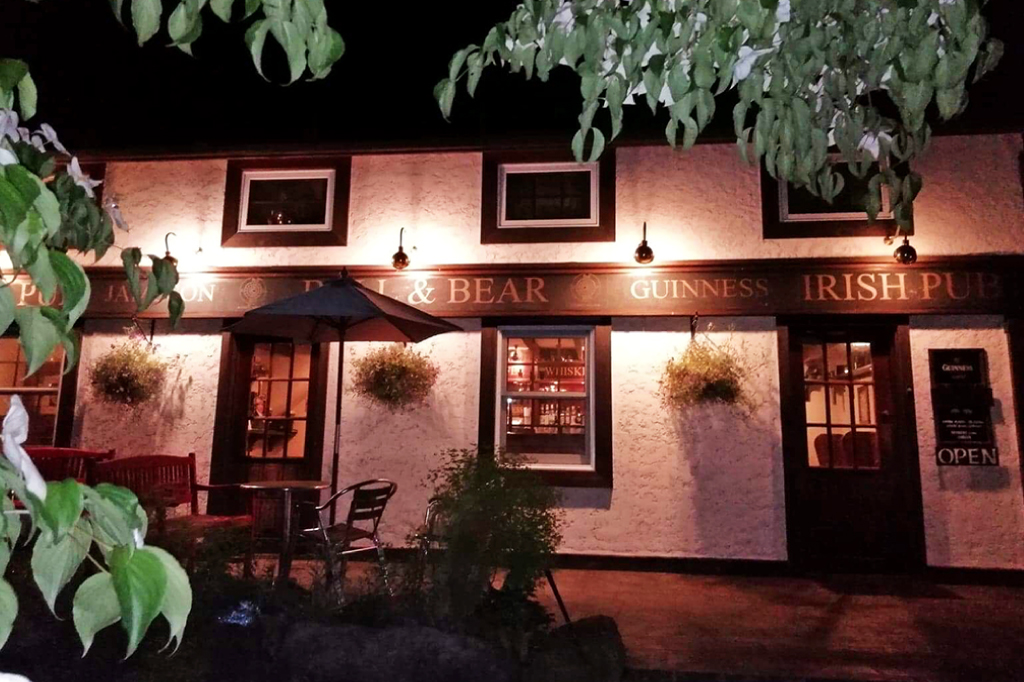 Irish Pub BULL&BEARの外観