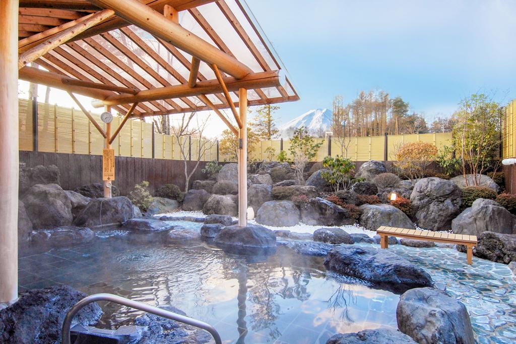 富士山 溶岩の湯 泉水 富士吉田市 温泉 スパ 2