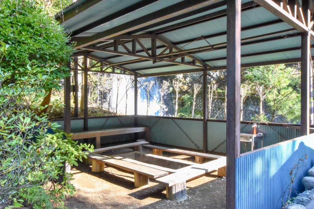寺川グリーン公園 甲府市 キャンプ BBQ 2