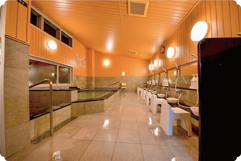 山宮温泉の浴室1