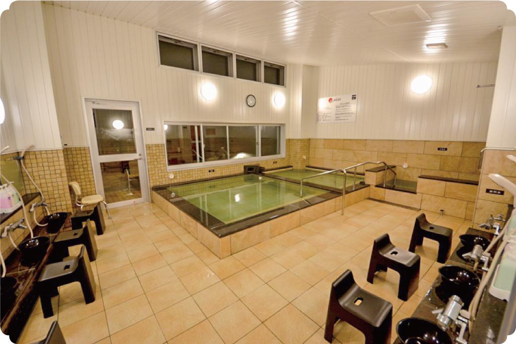 山宮温泉の浴室2