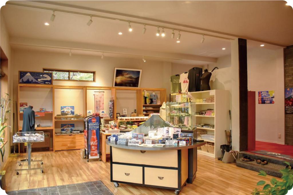 熔岩温泉の売店