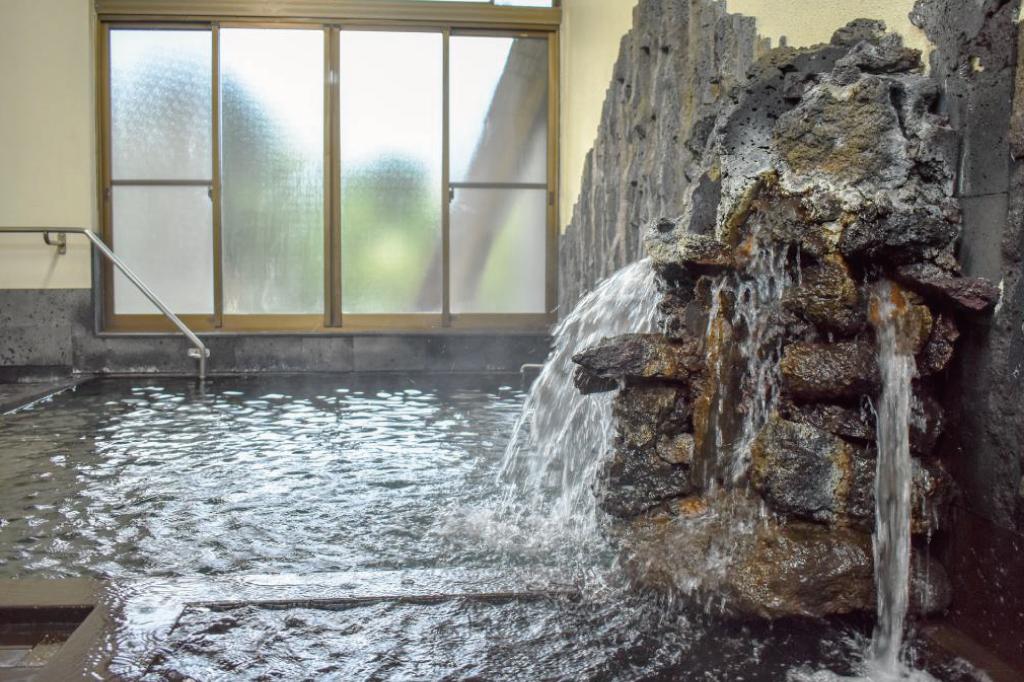 熔岩温泉の温泉