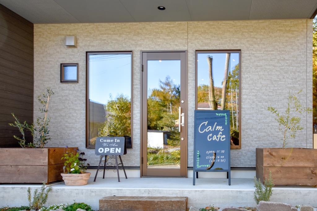 calm café 小淵沢 カフェ3