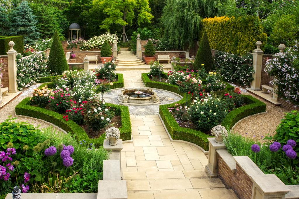 キングスウェルの庭園