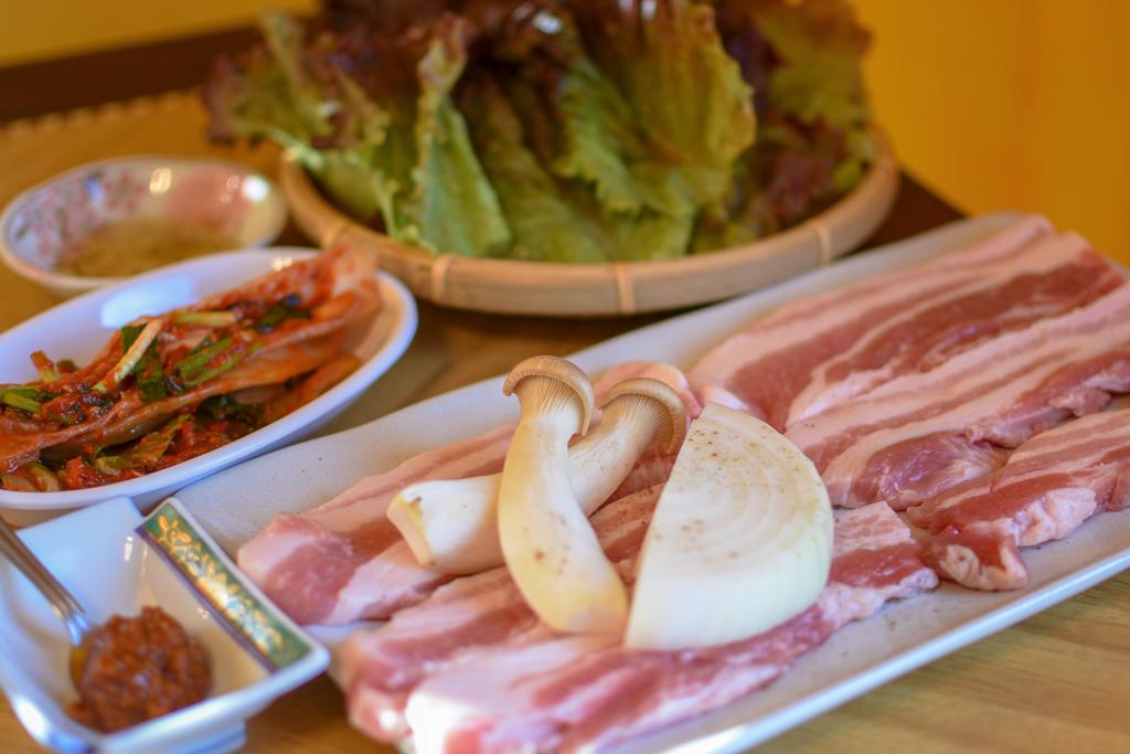 韓国料理 ジャーメのサムギョプサル