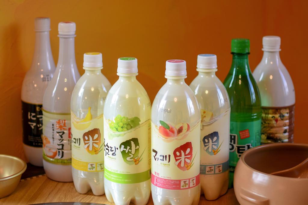 韓国料理 ジャーメのマッコリ