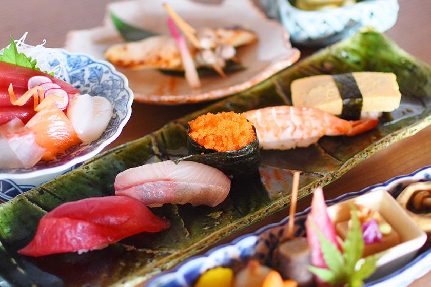 和食・おすし若の宴会コース2