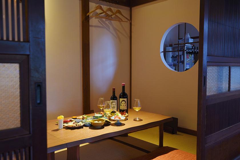 和食・おすし若の半個室
