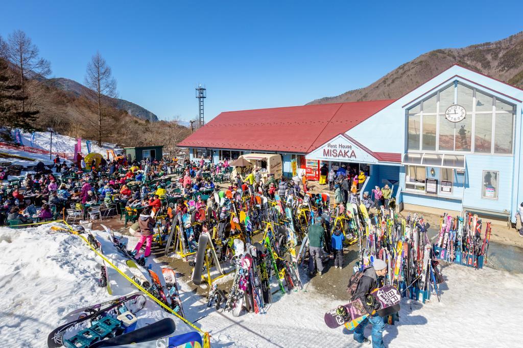 カムイみさかスキー場 笛吹市 スキー スケート 1