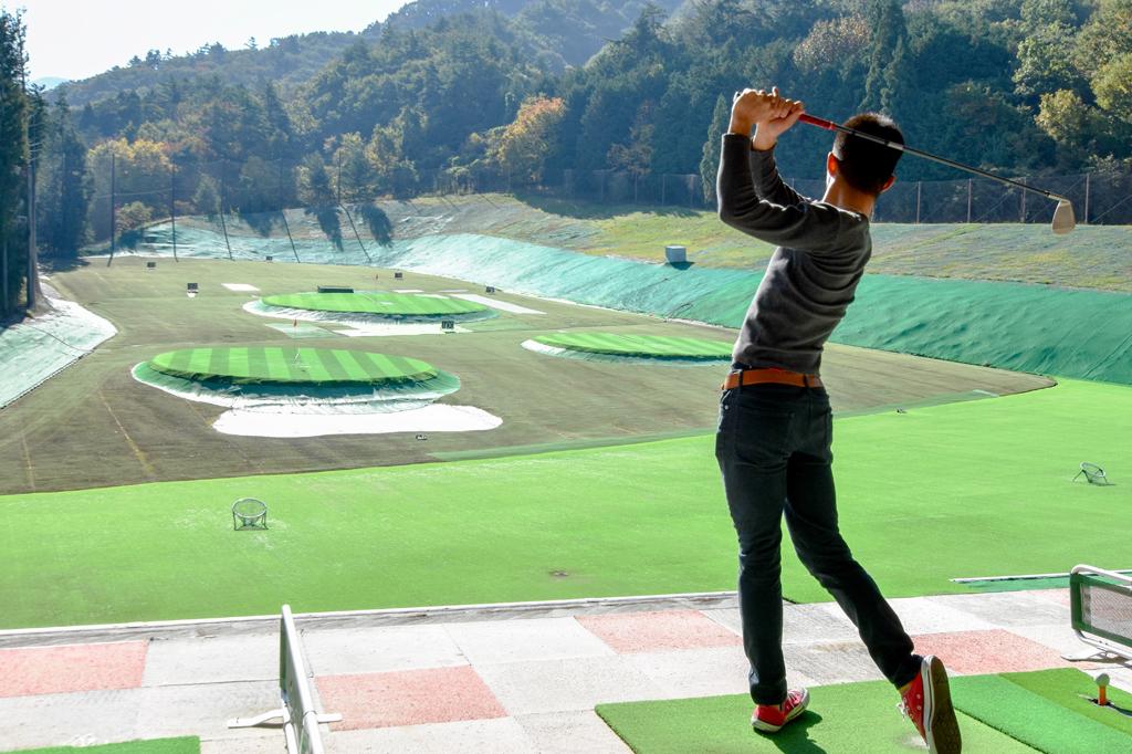 ウインドヒルゴルフ練習場 笛吹市 スポーツ施設 ゴルフ 3