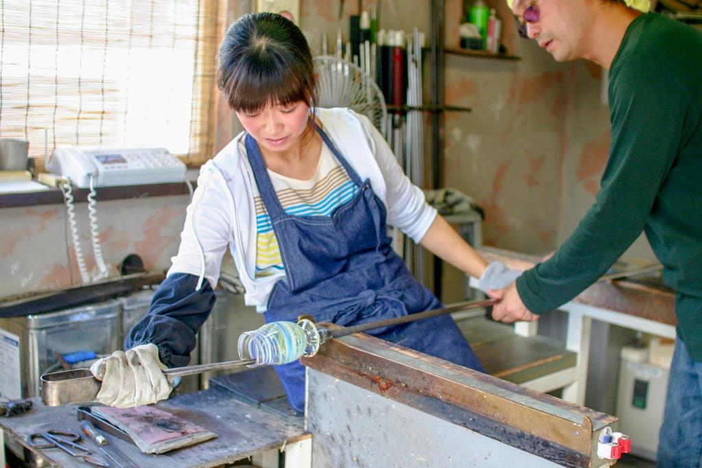 あしたば硝子工房 西桂町 体験施設 ギャラリー 3