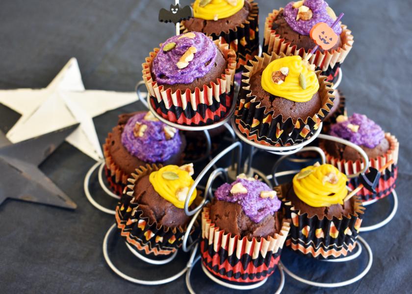 HMで簡単!ハロウィンカップケーキメインイメージ