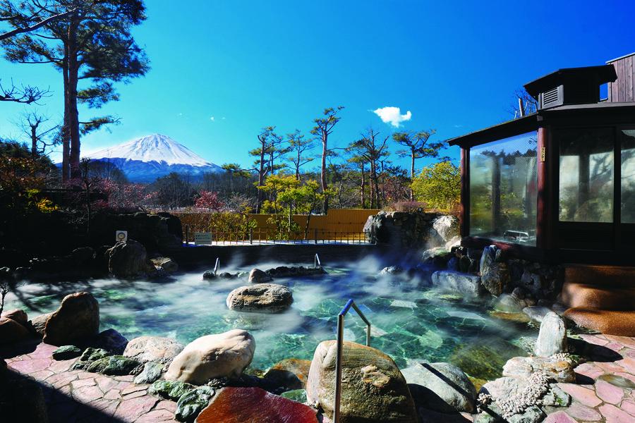 富士展望の湯ゆらり 鳴沢村 遊ぶ学ぶ 2