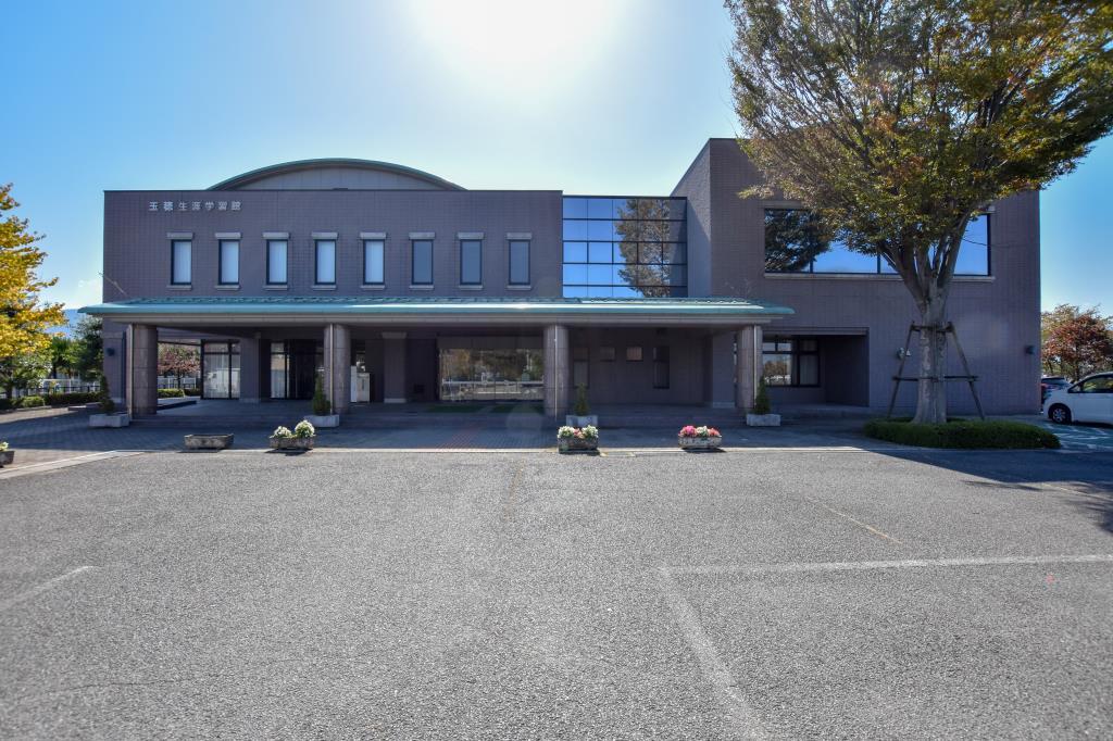 中央市立玉穂生涯学習館 中央市 図書館 多目的 ホール 1
