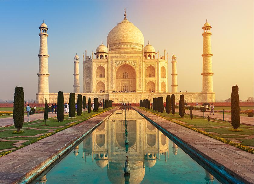 インドの風景写真