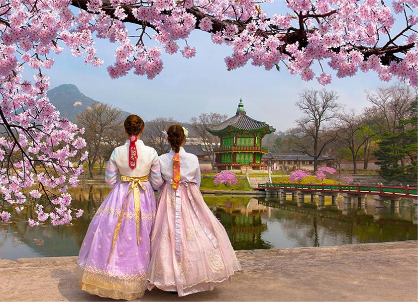 韓国の風景写真