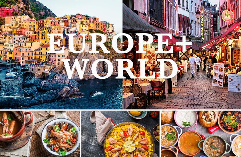 ヨーロッパ+世界各国