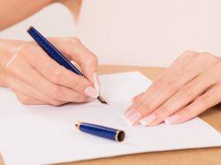 ビジネスレターのマナー手書きで女性らしさを