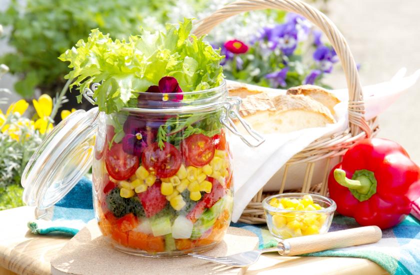 菜食・穀食のイメージ写真