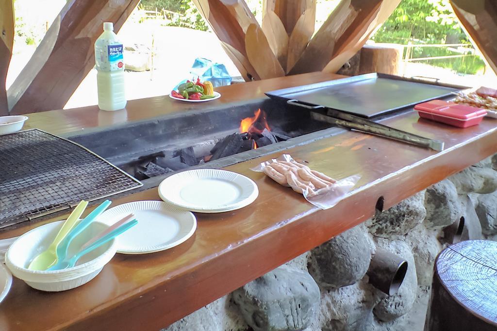 ウエストリバーオートキャンプ場 南アルプス市 キャンプ BBQ 2