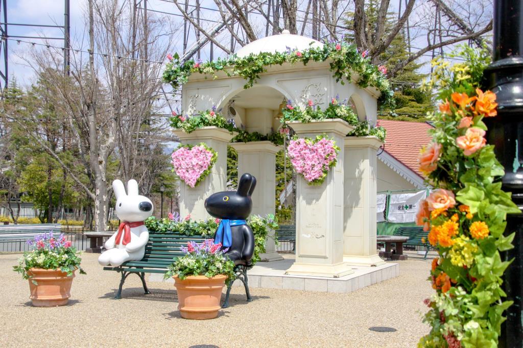 リサとガスパール タウン「フラワーフェスタ」 富士吉田市 イベント 2