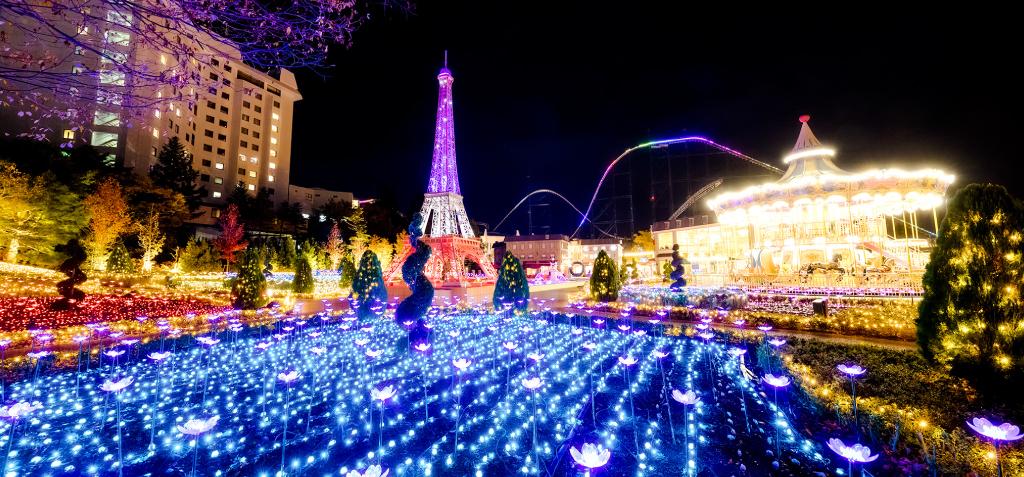 富士急ハイランドのクリスマス2019