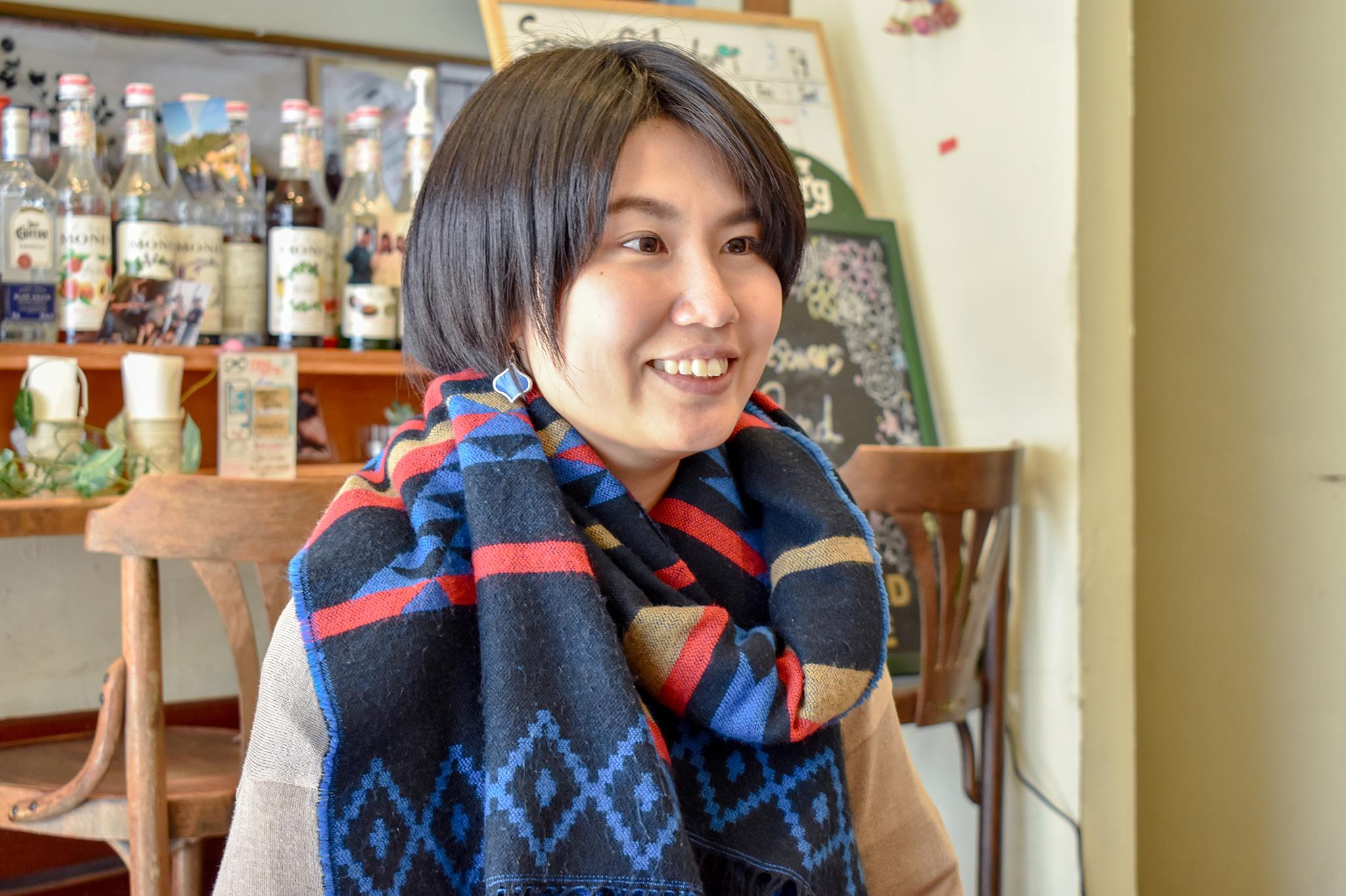 奈良美緒さん 写真2
