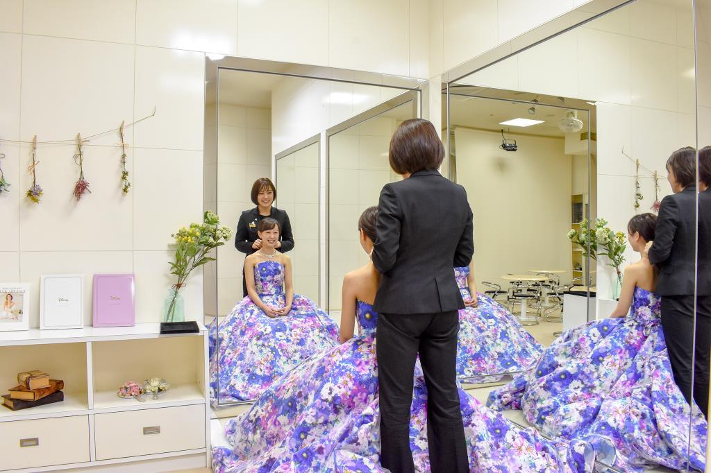 丸福衣装 Marufuku costume 富士吉田市 ウェディング 5