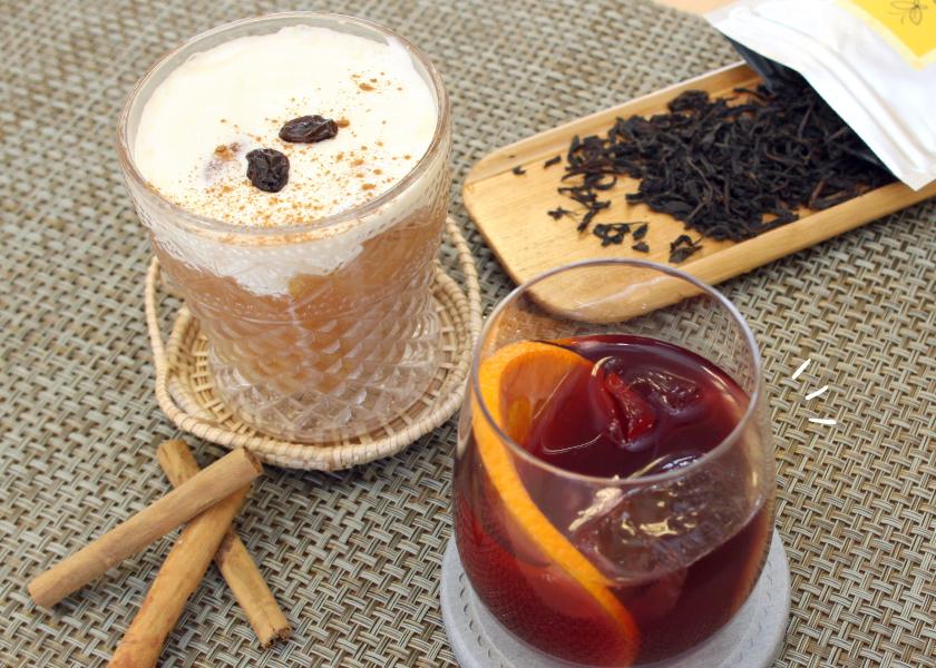 LOPCHU TEA GARDENのコラボレシピメインイメージ
