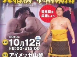 大相撲 甲府場所