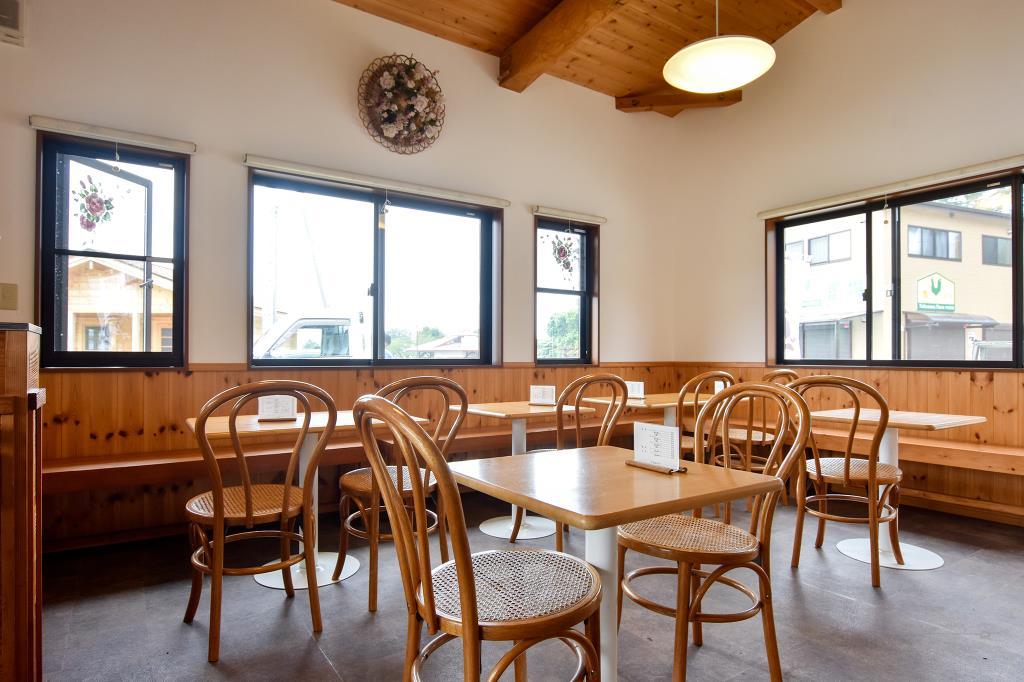 ミルクの家 北杜市 カフェ 喫茶 スイーツ 4