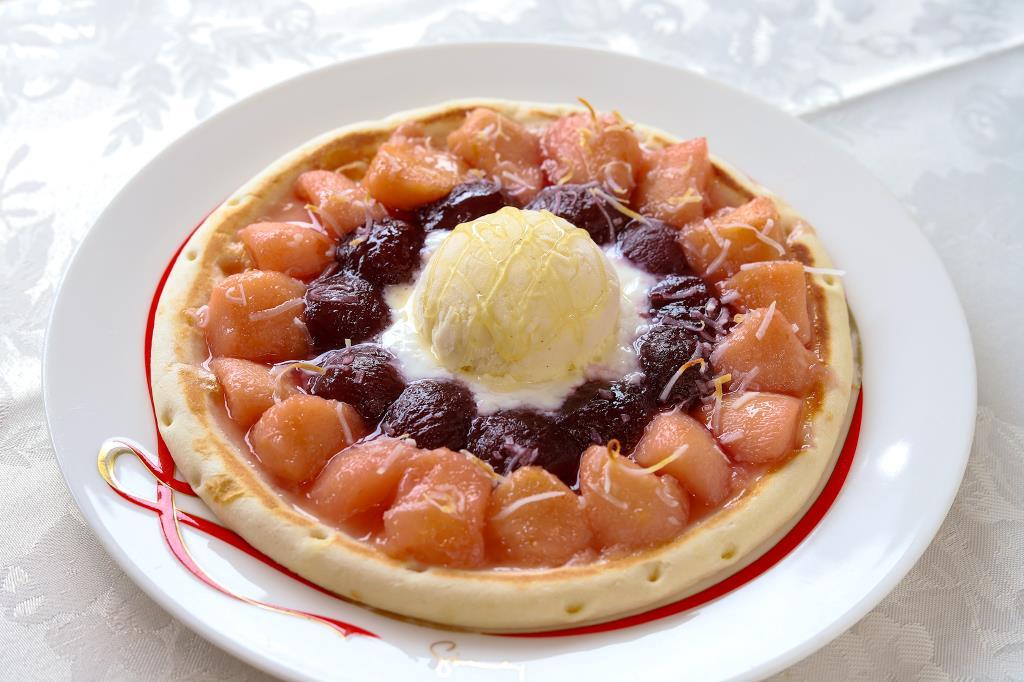 カフェ テロワール 甲府市 洋食 カフェ スイーツ 2