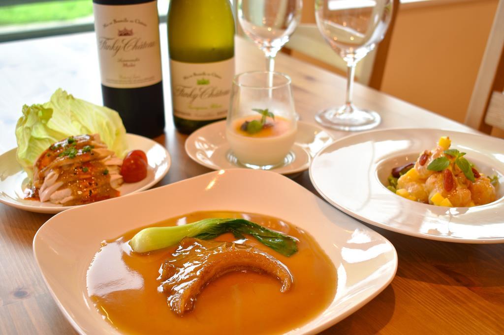 Chinese bistro&Cafe HUKU笑i 北杜市 大泉町 中華 カフェ 1