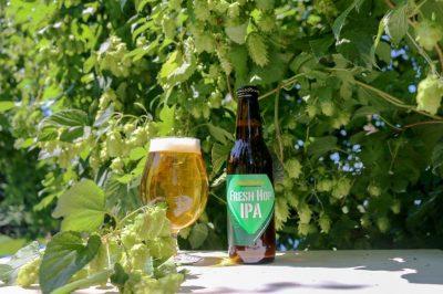 北杜市産ホップ使用クラフトビールFRESH HOP IPA 2