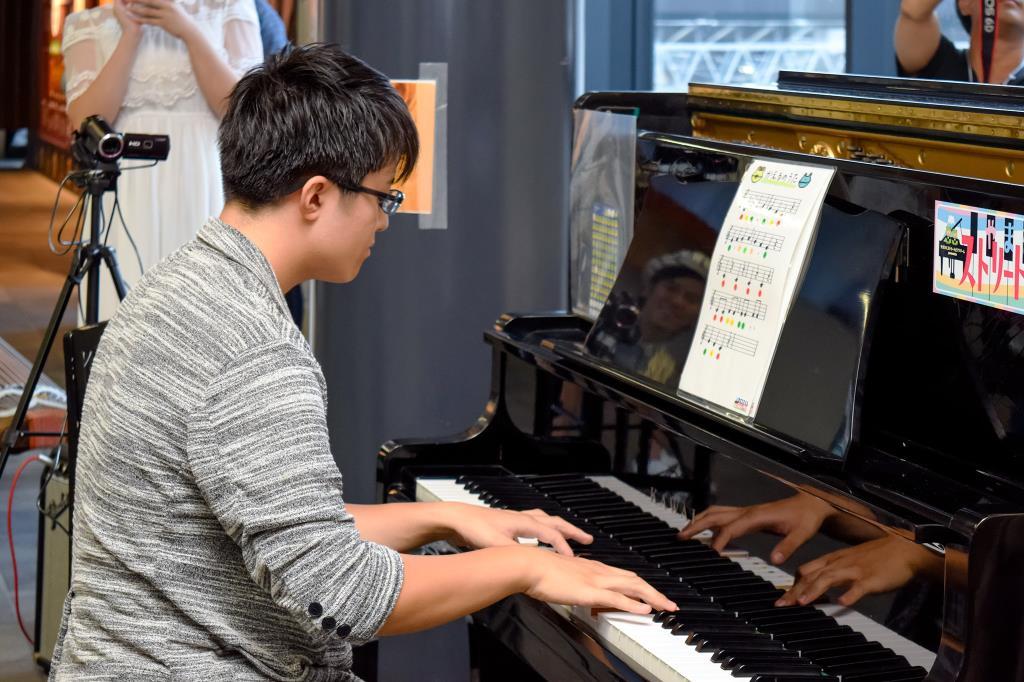 音楽を届ける高校生|青柳 大空さん