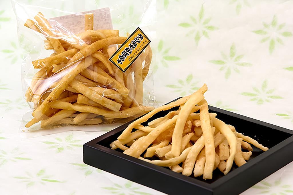 ご当地菓子「カリカリ揚げほうとう」新しい味をリリース