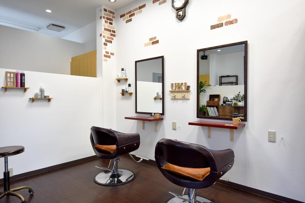 hair room uki 笛吹市 石和町 ヘア まつエク 2