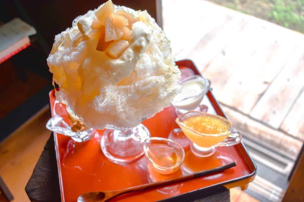 おんみつ堂 早川町 カフェ 喫茶 スイーツ 1