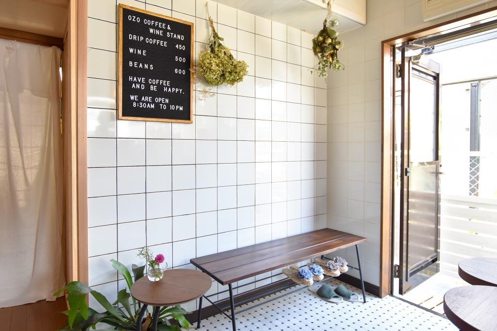 OZO coffee&wine stand オゾコーヒー 甲州市 カフェ スイーツ 4