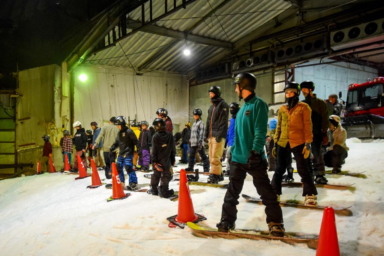 AMUZE Snowboard Schoolの体験の写真